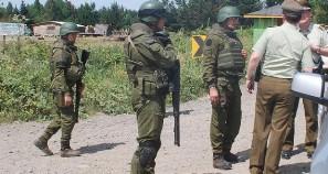 Allanamiento policial deja tres heridos en comunidad Chequenco