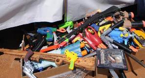 Prohíben juguetes bélicos en Brasil