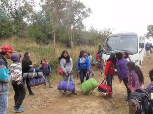 Campamento de verano en Tirúa