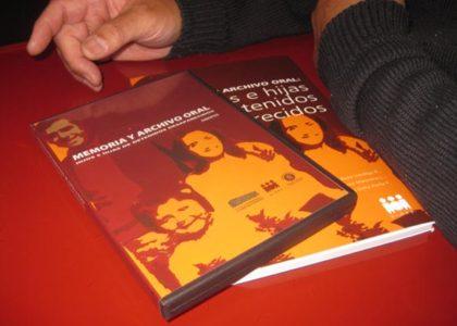 Presentación Archivo oral: Hijos e hijas de detenidos desaparecidos