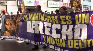 Migrantes en Chile exigen reconocimiento de sus derechos en la Constitución