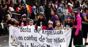 Organizaciones exigen justicia por violencia policial contra niños mapuche