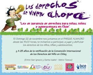 DDHH niños invitacion
