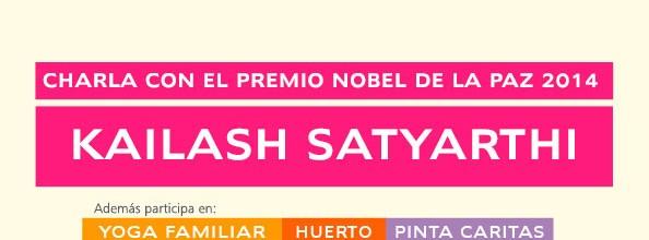 Visita de Kailash Satyarthi, Premio Nobel de la Paz 2014