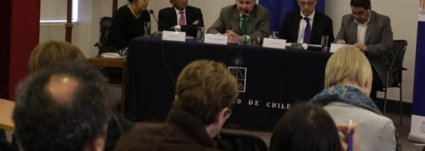"""Seminario """"Diálogo y Migración"""" reunió a académicos de Chile, Estados Unidos y Marruecos en la U. de Chile"""
