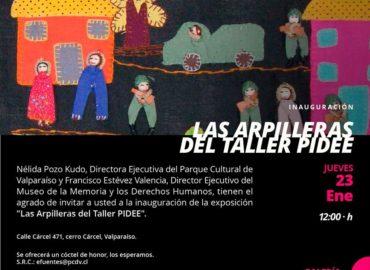 Exposición: Las arpilleras del Taller PIDEE